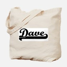 Black jersey: Dave Tote Bag