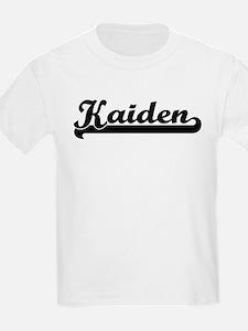 Black jersey: Kaiden Kids T-Shirt
