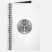 3 paulownia blooms, heads facing outward Journal
