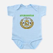 Afghanistan Coat of arms Infant Bodysuit