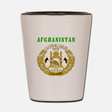 Afghanistan Coat of arms Shot Glass