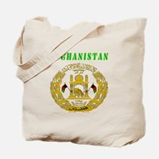 Afghanistan Coat of arms Tote Bag