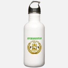 Afghanistan Coat of arms Sports Water Bottle