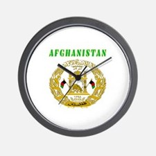 Afghanistan Coat of arms Wall Clock