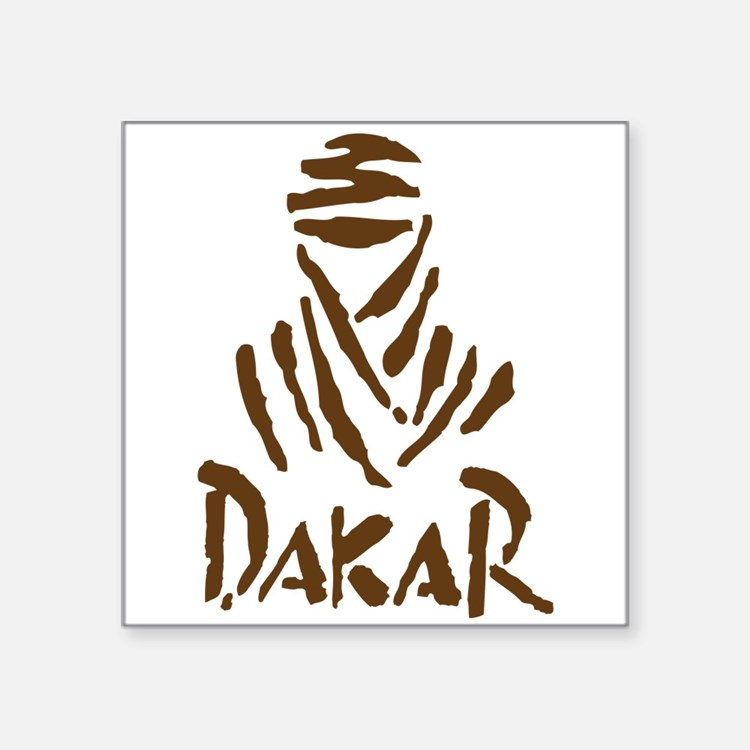 Dakar Rally Rectangle Sticker