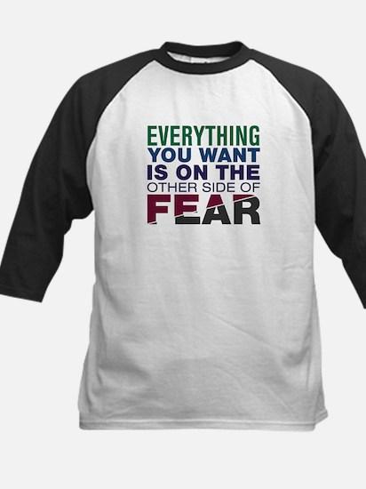 Other Side of Fear Kids Baseball Jersey