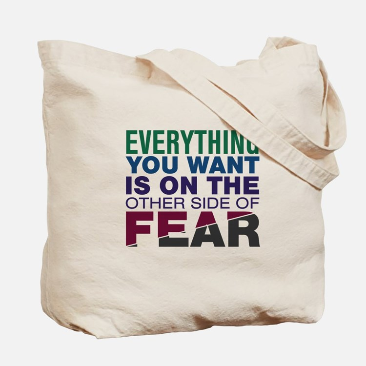 Other Side of Fear Tote Bag