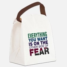 Other Side of Fear Canvas Lunch Bag