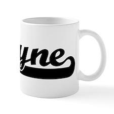 Black jersey: Shayne Coffee Mug