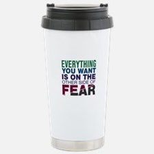 Other Side of Fear Travel Mug