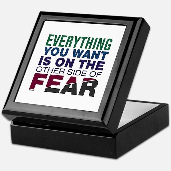Other Side of Fear Keepsake Box