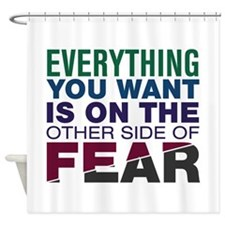 Other Side of Fear Shower Curtain