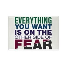 Other Side of Fear Rectangle Magnet