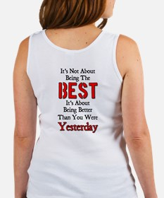Better Than Yesterday Women's Tank Top