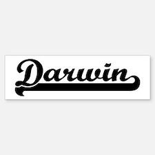 Black jersey: Darwin Bumper Bumper Bumper Sticker