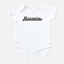 Black jersey: Marquise Infant Bodysuit
