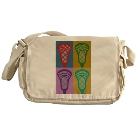 Lacrosse 4 Monkeys Messenger Bag
