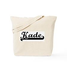 Black jersey: Kade Tote Bag