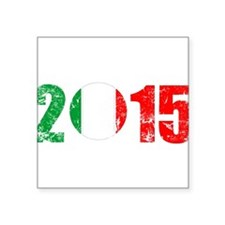 """italien 2015 Square Sticker 3"""" x 3"""""""