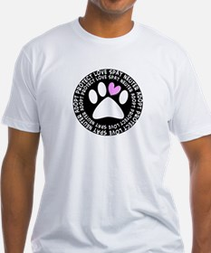 spay neuter adopt BLACK OVAL.PNG Shirt