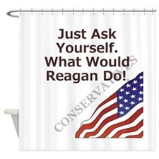 Conservative Mantra Shower Curtain