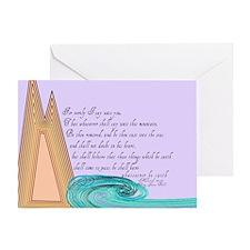 Mark 11 23 Bible Verse Greeting Card