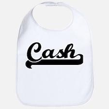 Black jersey: Cash Bib