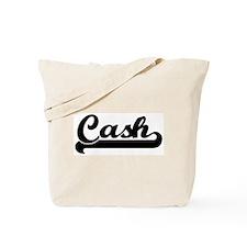 Black jersey: Cash Tote Bag