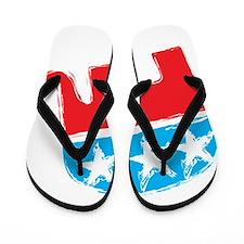 Republican Elephant Flip Flops