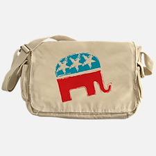 Republican Elephant Messenger Bag