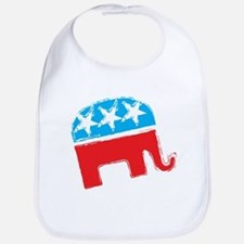 Republican Elephant Bib
