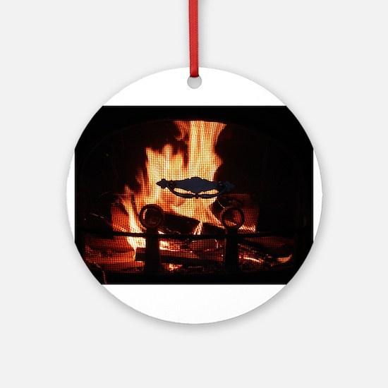 COZY FIRE™ Ornament (Round)