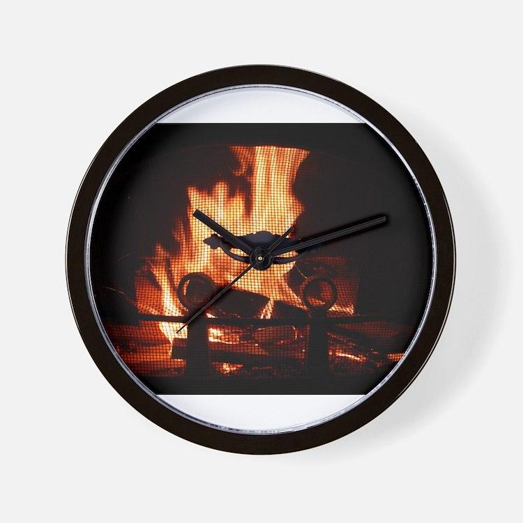 COZY FIRE™ Wall Clock