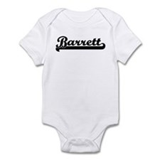 Black jersey: Barrett Infant Bodysuit