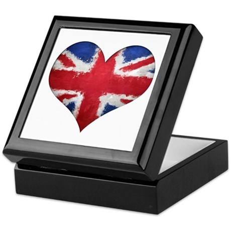 British heart Keepsake Box