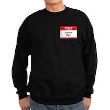 Aiden's Dad Dark Sweatshirt