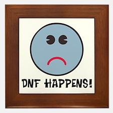 DNF Happens! Framed Tile