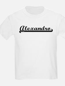 Black jersey: Alexandro Kids T-Shirt