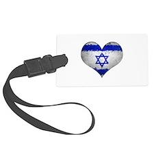Israeli heart Luggage Tag