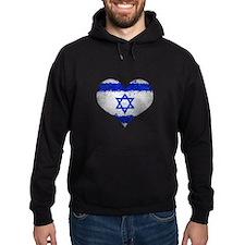 Israeli heart Hoodie