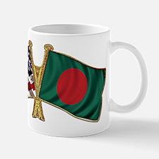 Bangladesh-American Friend Ship Flag Mug