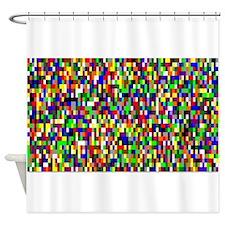 Pi by Robert Vermillion Shower Curtain