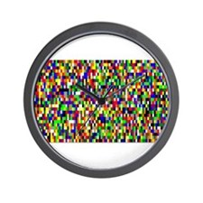 Pi by Robert Vermillion Wall Clock