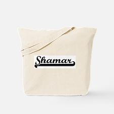 Black jersey: Shamar Tote Bag