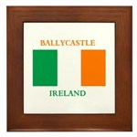 Ballycastle Ireland Framed Tile