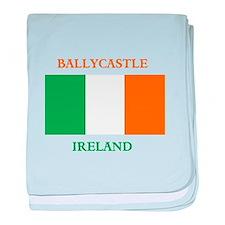 Ballycastle Ireland baby blanket