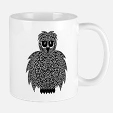 Abstract Owl Mug