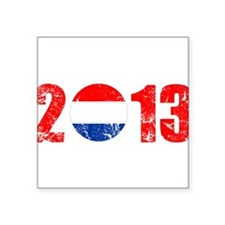 """kroatien 2013 Square Sticker 3"""" x 3"""""""