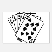 Royal Flush Postcards (Package of 8)