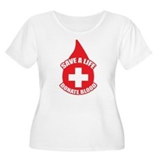 Save a Life, Donate Blood T-Shirt